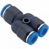 Фитинг У-образный для пластиковых трубок 4мм