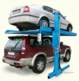 Двухстоечный электромеханический парковочный подъемник ППР-3